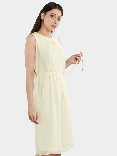 Sukienka elegancka, luźna tuszująca na wesele i wizytę Bee Collection