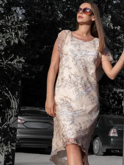 Wizytowa sukienka na letnie wesela, grilla i spotkania ogrodowe i biznesowe Bee Collection Ceptina