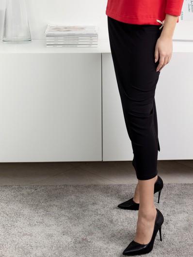 Klasyczna długa spódnica maxi z dzianiny dresowej, w gumkę, styl casual Bee Collection Maxi