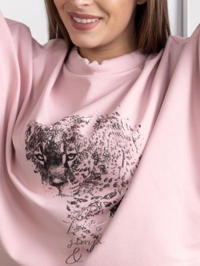 Bluza kobieca, elegancka, ale i nowoczesna, na luzie, świetna do stylizacji wizytowych i sportowych Bee Collection Niren